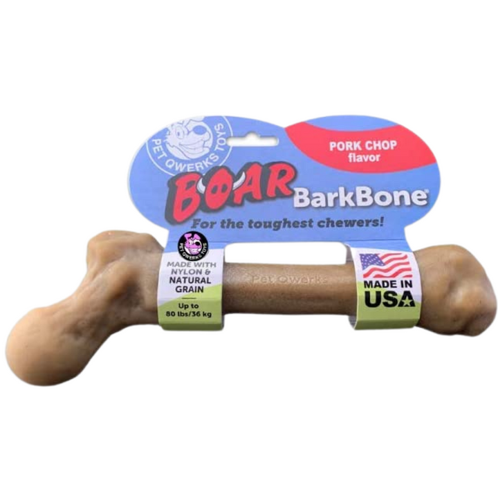 Boar Barkbone Pork Chop Flavor | Like-Real Nylon Dog Bone