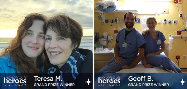Honor Our Heroes Grand Prize Recipients