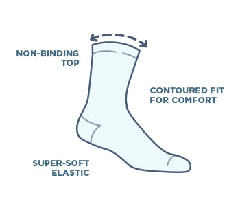 We Designed the Best Soft Top Sock