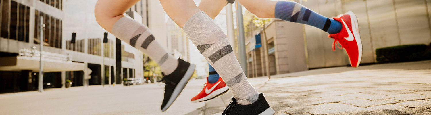 Sockwell's New Traverse Merino Wool Compression Socks for Running, Fitness, and Working Out at the Gym