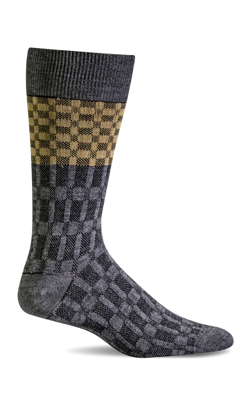 Men's In Check | Essential Comfort Socks