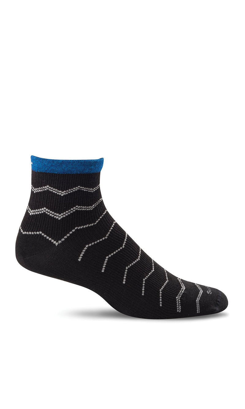 Men's Plantar Ease Quarter | Compression Socks