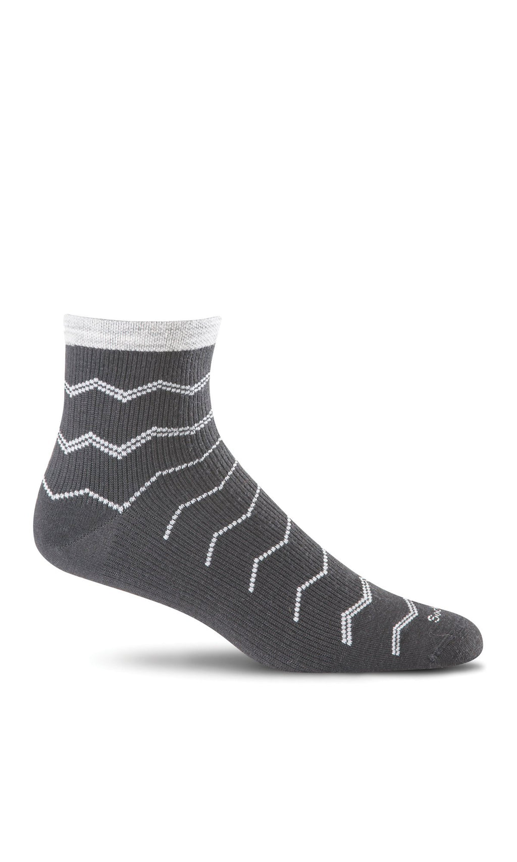 Women's Plantar Ease Quarter | Plantar Relief Socks