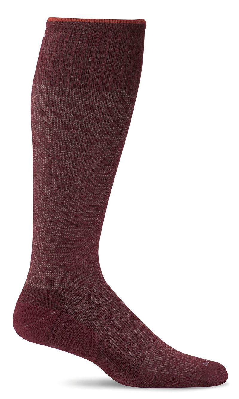 Sockwell Men's Shadow Box Graduated Compression Socks
