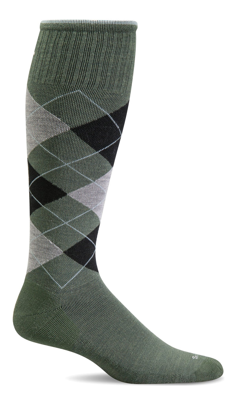 Sockwell's Men's Argyle Graduated Compression Socks
