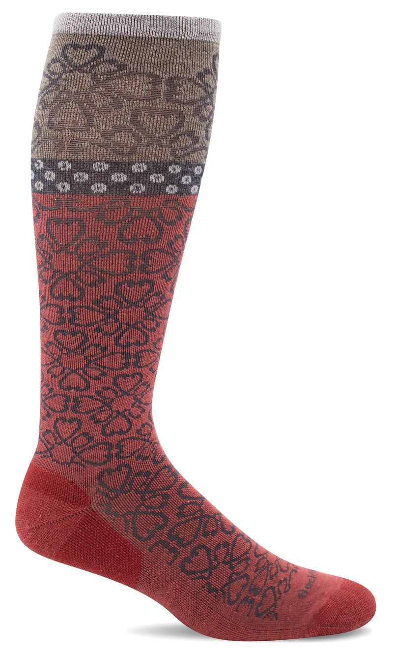 Women's Botanical | Moderate Graduated Compression Socks