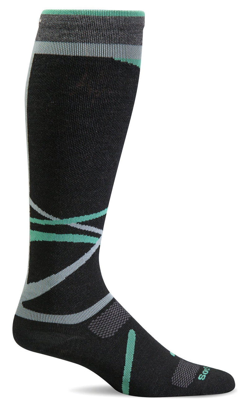 women's free ski ultra light compression sock