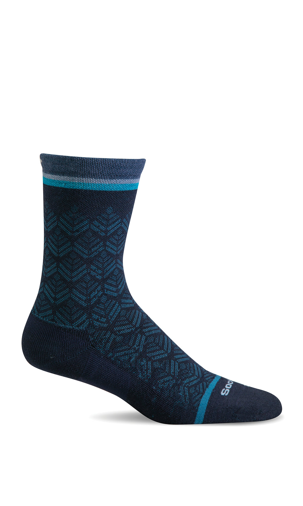 women's bunion crew lifestyle compression sock
