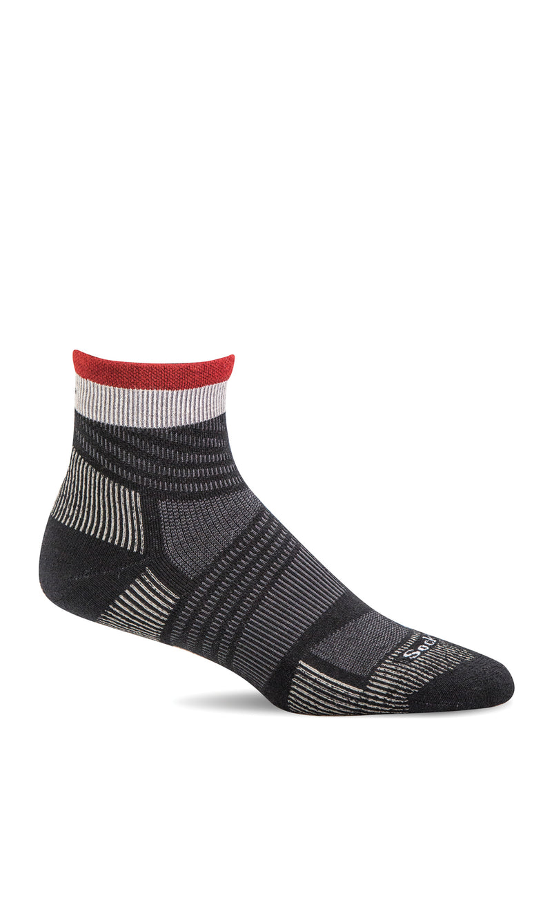 Men's Summit II Quarter | Firm Compression Socks