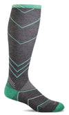 women's incline knee high compression sock