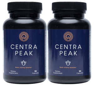 2 Boxes of Centrapeak (180 Capsules)