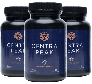 3 Boxes of Centrapeak (270 Capsules)
