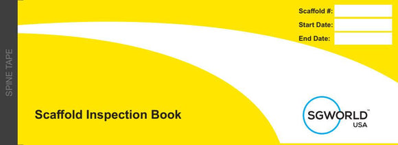 Scaffold Inspection Books