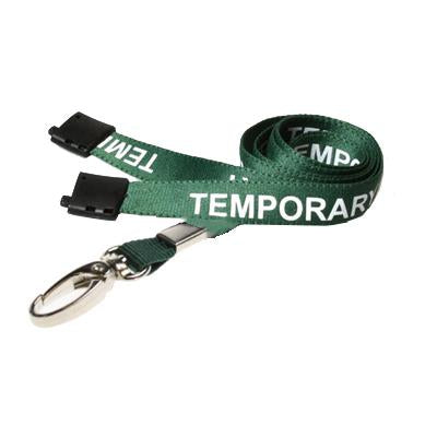 Temporary Staff Pre-Printed Lanyard (per Pack of 5)
