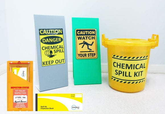 Spill Kit Inspection Checklist Solution Starter Kit (Patent Protected)
