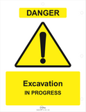 Excavation Dig Permit: Pack of 5