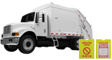 Garbage Truck Inspection Checklist Solution Starter Kit (Patent Protected)