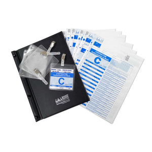Book & Badge Contractor ATW Sign-in Starter Kit (Patented)