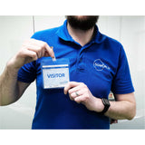Book & Badge School Visitor Sign-in Starter & Refill Kits (Patented)