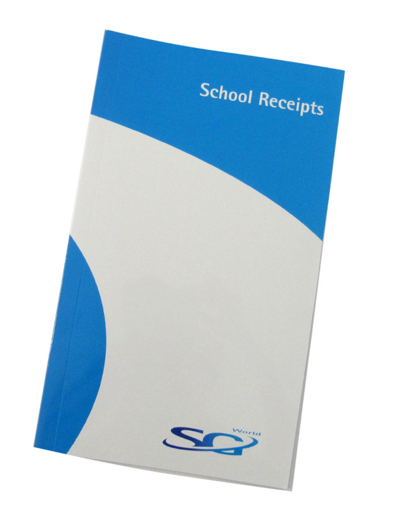 School Receipt Pad (Pack of 5)