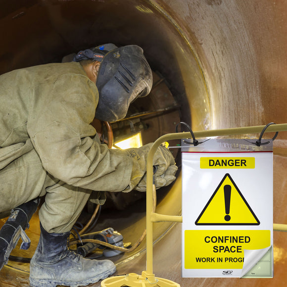 Confined Space Permit: Pack of 5