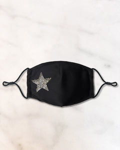 Crystal Star Face Mask