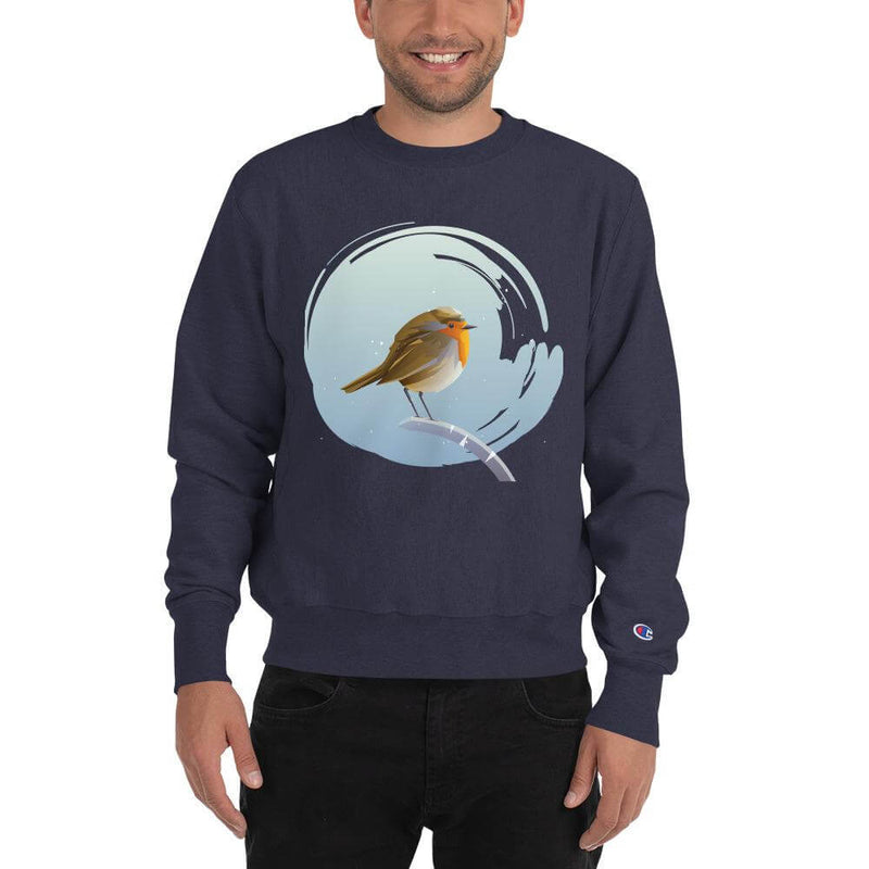Champion | Men's European Robin in Winter Tale Sweatshirt - Team Navy