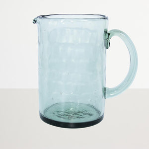 Water Jug Recycled Glass Blue