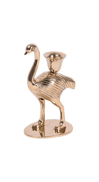Ostrich Candle Holder