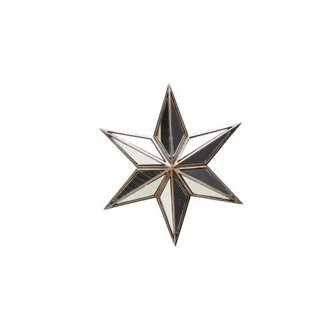 Wall Star With Mirrors