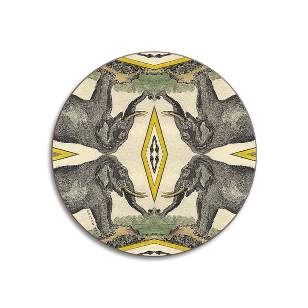 Elephant Coaster Two Piece Set