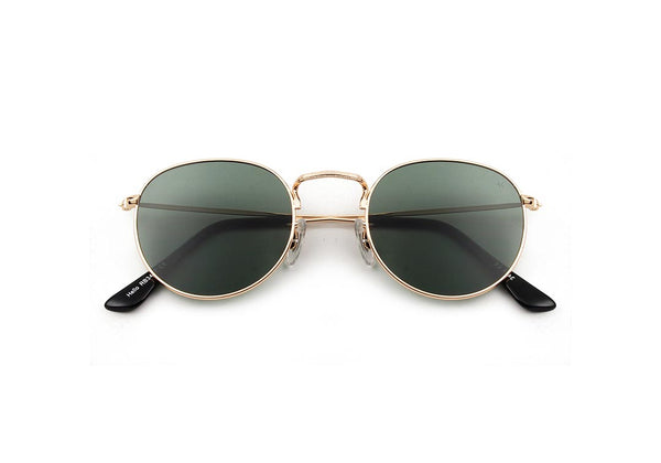 HELLO - Gold Sunglasses