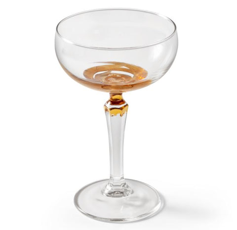 Champagne Coupe Gold tweedelige set