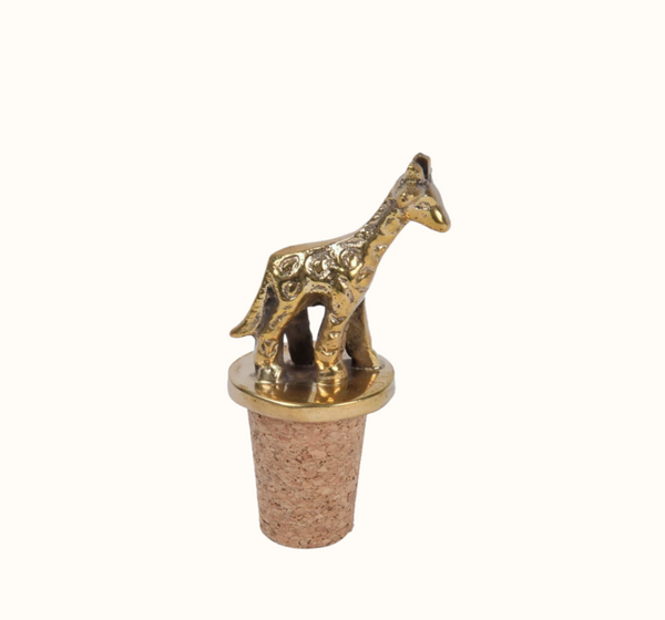Giraffe Bottle Stopper
