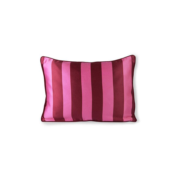 Double-Sided Satin & Velvet Cushion Two Colourways