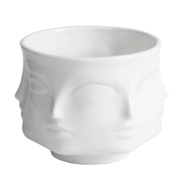 White Ceramic Bowl By JONATHAN ADLER