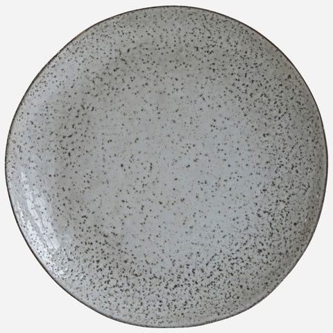 Dining Plate Blue/Grey