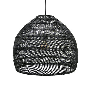 Wicker Hanging Lamp Natural or Black