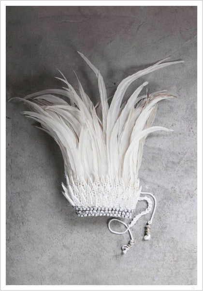 LOVE WARRIORS POSTER - White Feather Crown