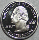 2004-S-Silver Statehood Quarter Wisconsin Proof