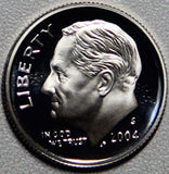 2004 S Roosevelt Proof Silver Dime