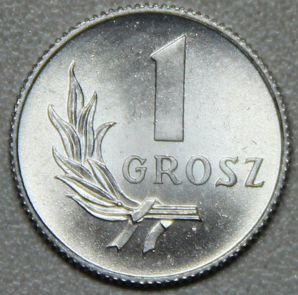 1949 Poland 1 Grosz BU-Lot 3