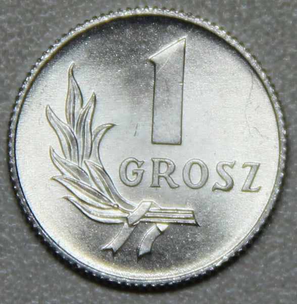 1949 Poland 1 Grosz BU-Lot 4