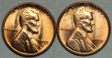 1955 DS Lincoln Wheat Cent BU Set-Lot 1