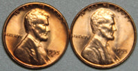 1955 DS Lincoln Wheat Cent BU Set-Lot 3