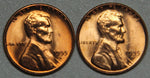 1955 DS Lincoln Wheat Cent BU Set-Lot 4