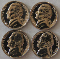 1961-1964 Jefferson Nickel Proof Run