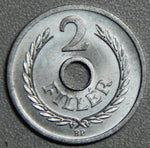 1963 Hungary 2 Filler BU- Lot 1