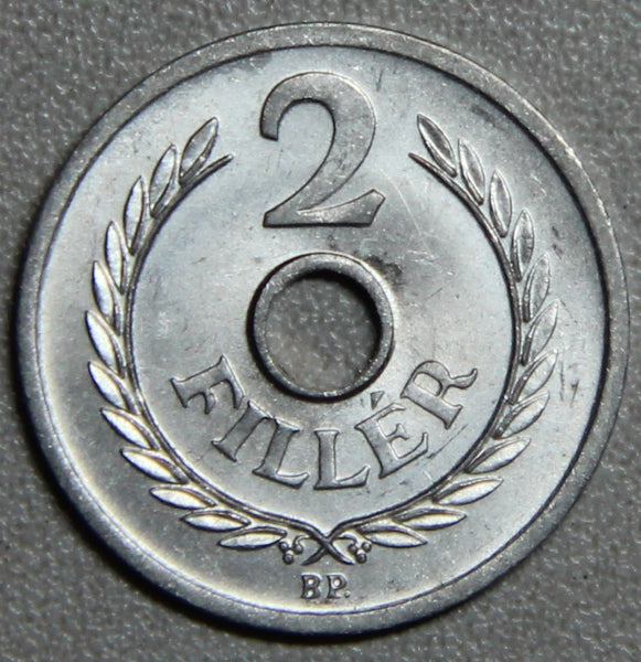 1963 Hungary 2 Filler BU- Lot 2