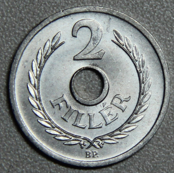 1963 Hungary 2 Filler BU- Lot 4
